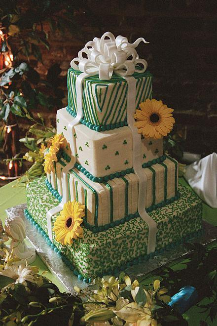 Gift Box Wedding Cakes Artistic Desserts
